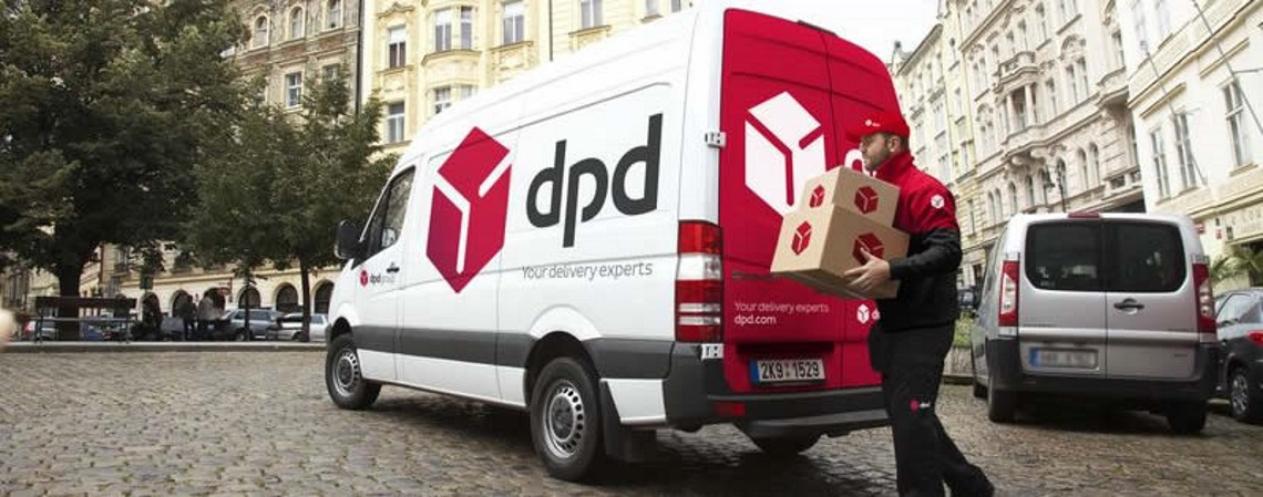 DPD courier in Europe