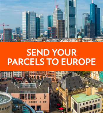 International parcel service - European postage