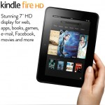 Kindle Fire HD Amazon iPad mini advert homepage