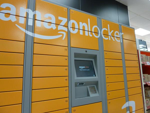 amazon to install lockers for online shoppers in london s tube stations. Black Bedroom Furniture Sets. Home Design Ideas