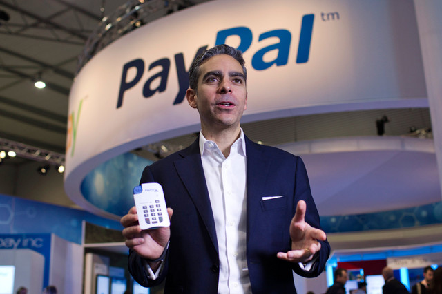 David Marcus at eBay, now moving to Facebook