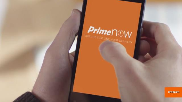 Someone using the Amazon Prime app on their smartphone