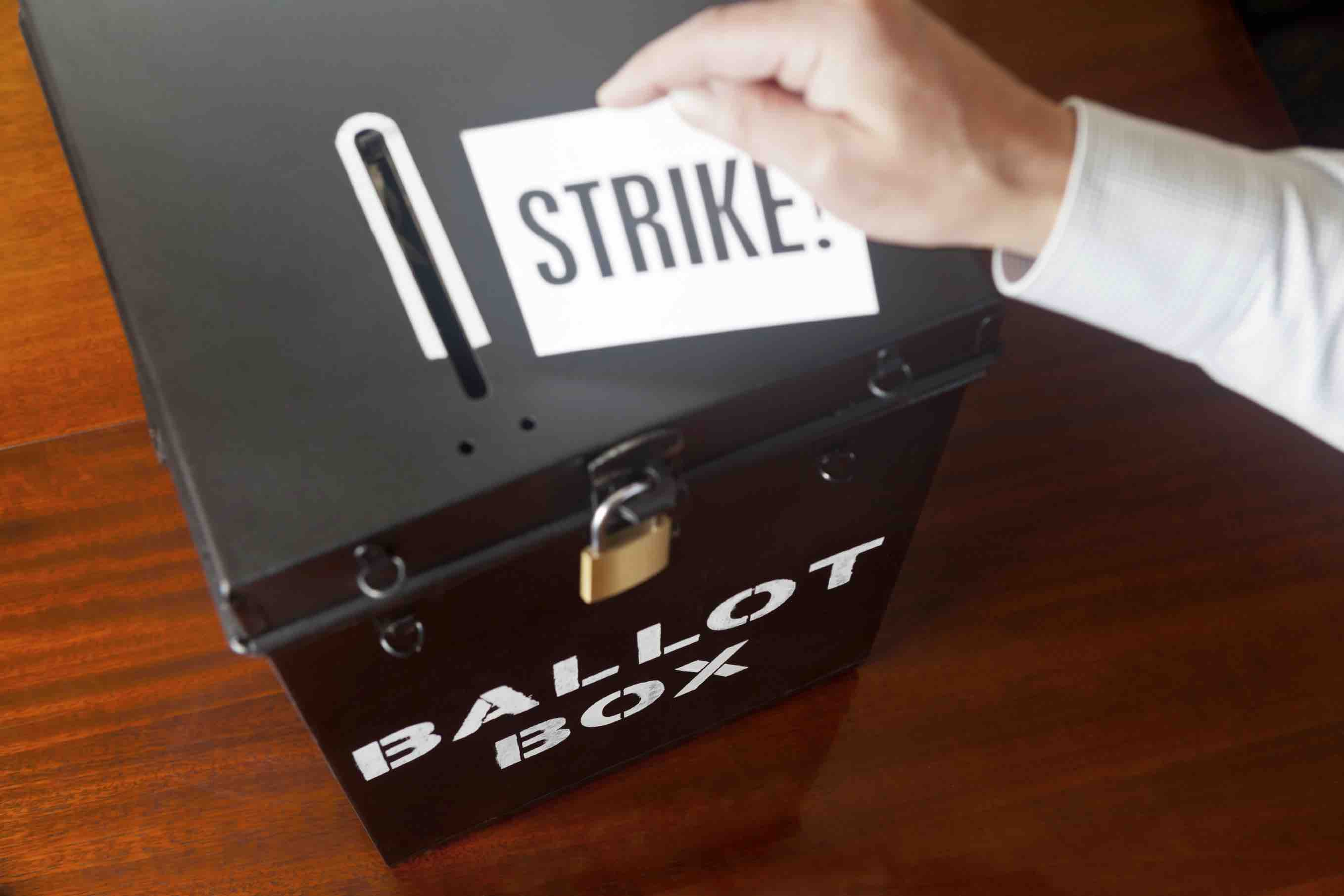 Voting to Strike