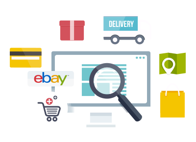 eBay Bulk Shipping Illustration