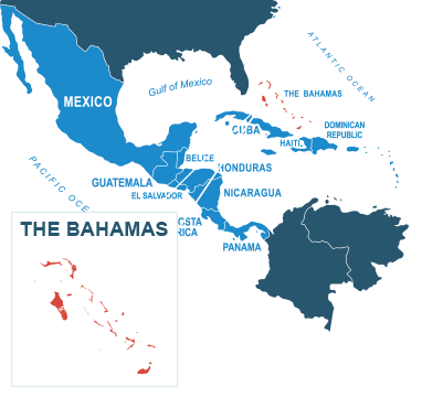 Parcel delivery to Bahamas