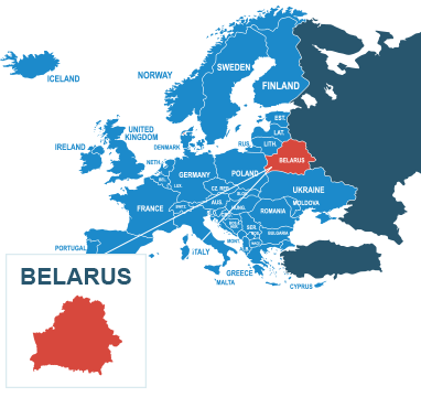 Parcel delivery to Belarus