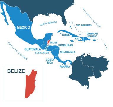 Parcel delivery to Belize