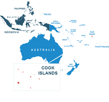 Parcel delivery to Cook Islands