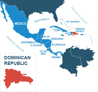 Parcel delivery to Dominican Republic