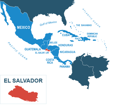 Parcel delivery to El Salvador