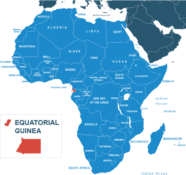 Parcel delivery to Equatorial Guinea