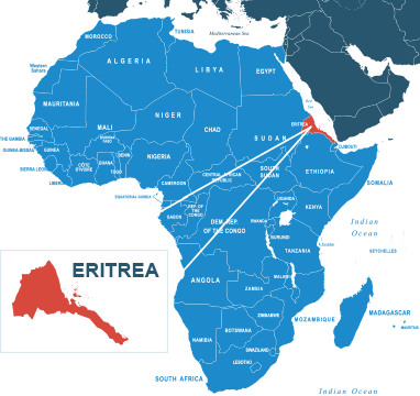Parcel delivery to Eritrea