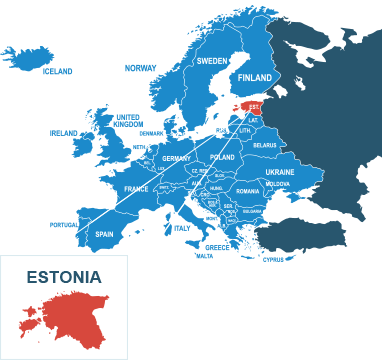 Parcel delivery to Estonia