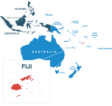 Parcel delivery to Fiji