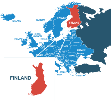 Parcel delivery to Finland