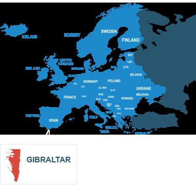 Parcel delivery to Gibraltar