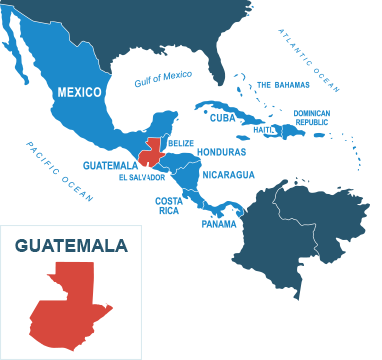 Parcel delivery to Guatemala
