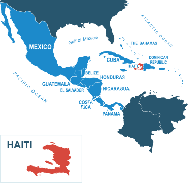 Parcel delivery to Haiti