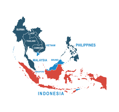 Parcel delivery to Indonesia