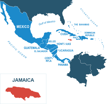 Parcel delivery to Jamaica