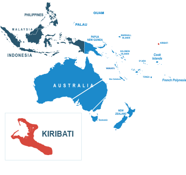 Parcel delivery to Kiribati
