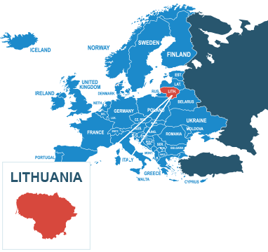 Parcel delivery to Lithuania