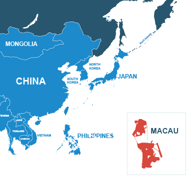 Parcel delivery to Macau