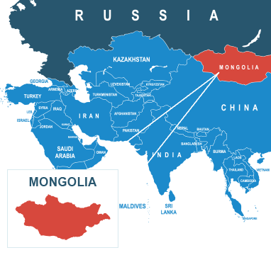 Parcel delivery to Mongolia