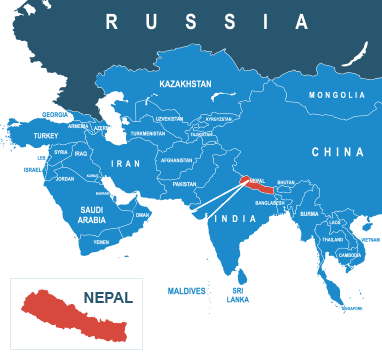 Parcel delivery to Nepal
