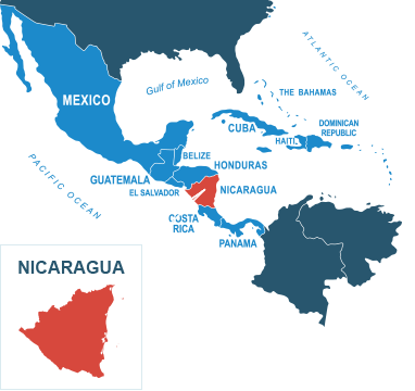 Parcel delivery to Nicaragua