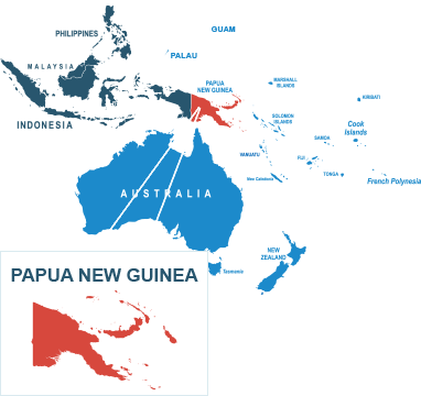 Parcel delivery to Papua New Guinea