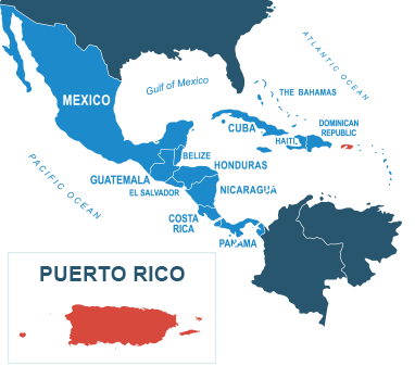 Parcel delivery to Puerto Rico