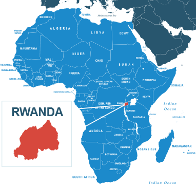 Parcel delivery to Rwanda
