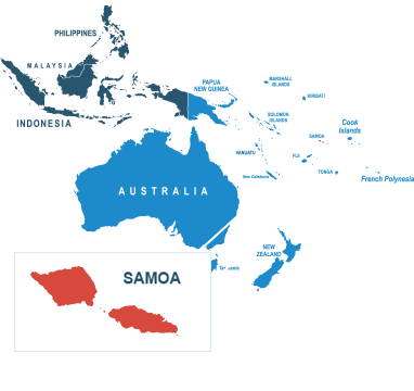 Parcel delivery to Samoa