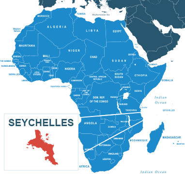Parcel delivery to Seychelles