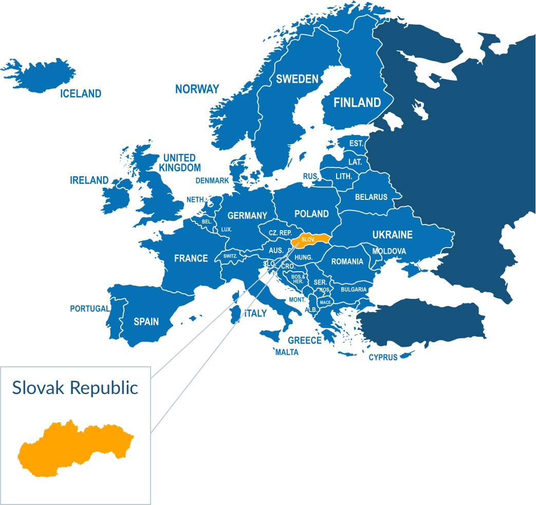 Pallet delivery to Slovak Republic
