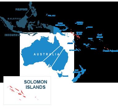 Parcel delivery to Solomon Islands