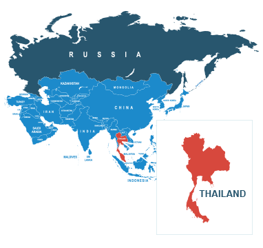 Parcel delivery to Thailand