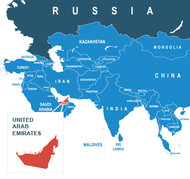 Parcel delivery to United Arab Emirates