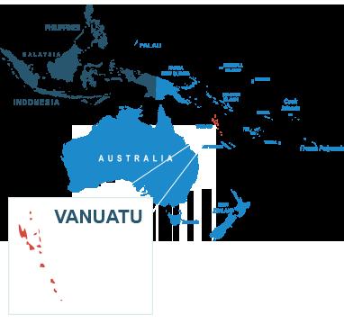 Parcel delivery to Vanuatu