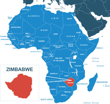 Parcel delivery to Zimbabwe