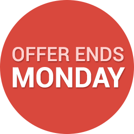 Offer Ends Monday