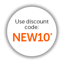 Use discount code NEW10