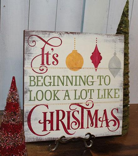 A lot like Christmas pallet