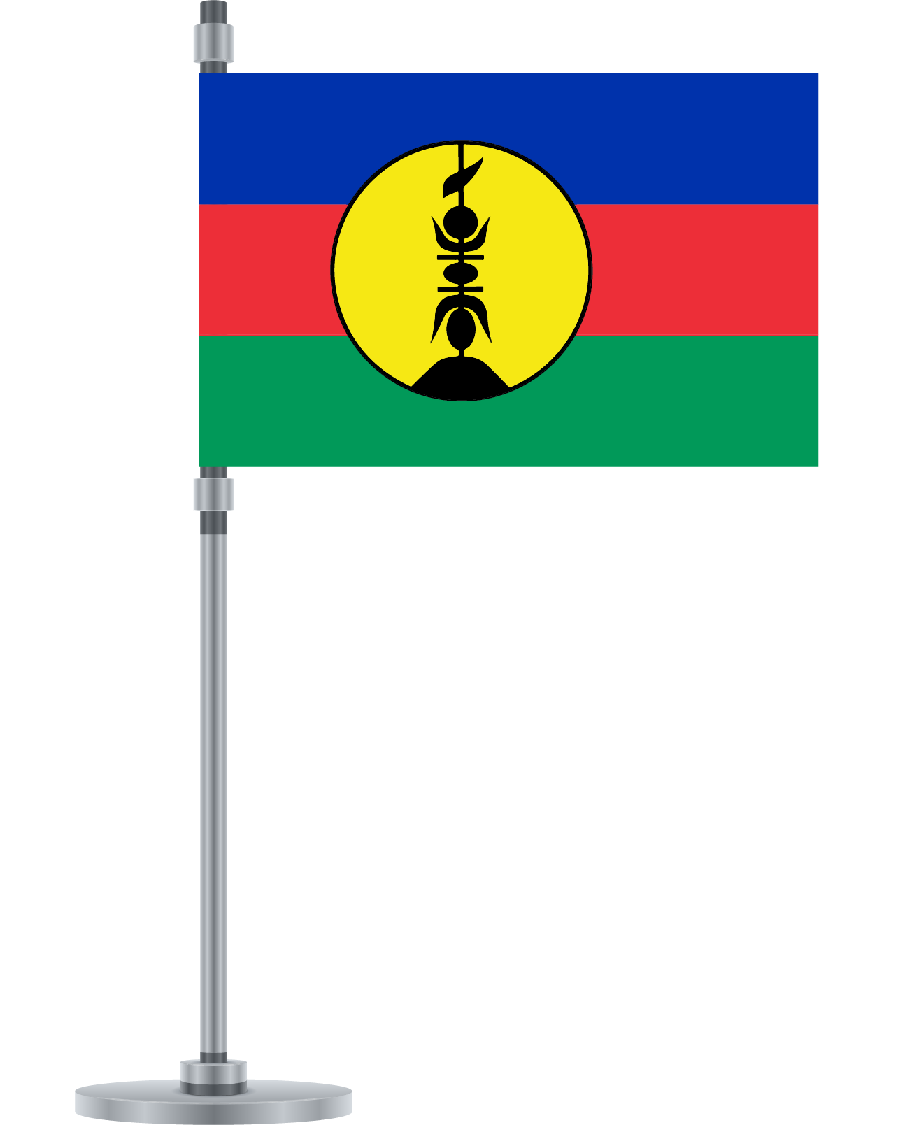 New Caledonia flag