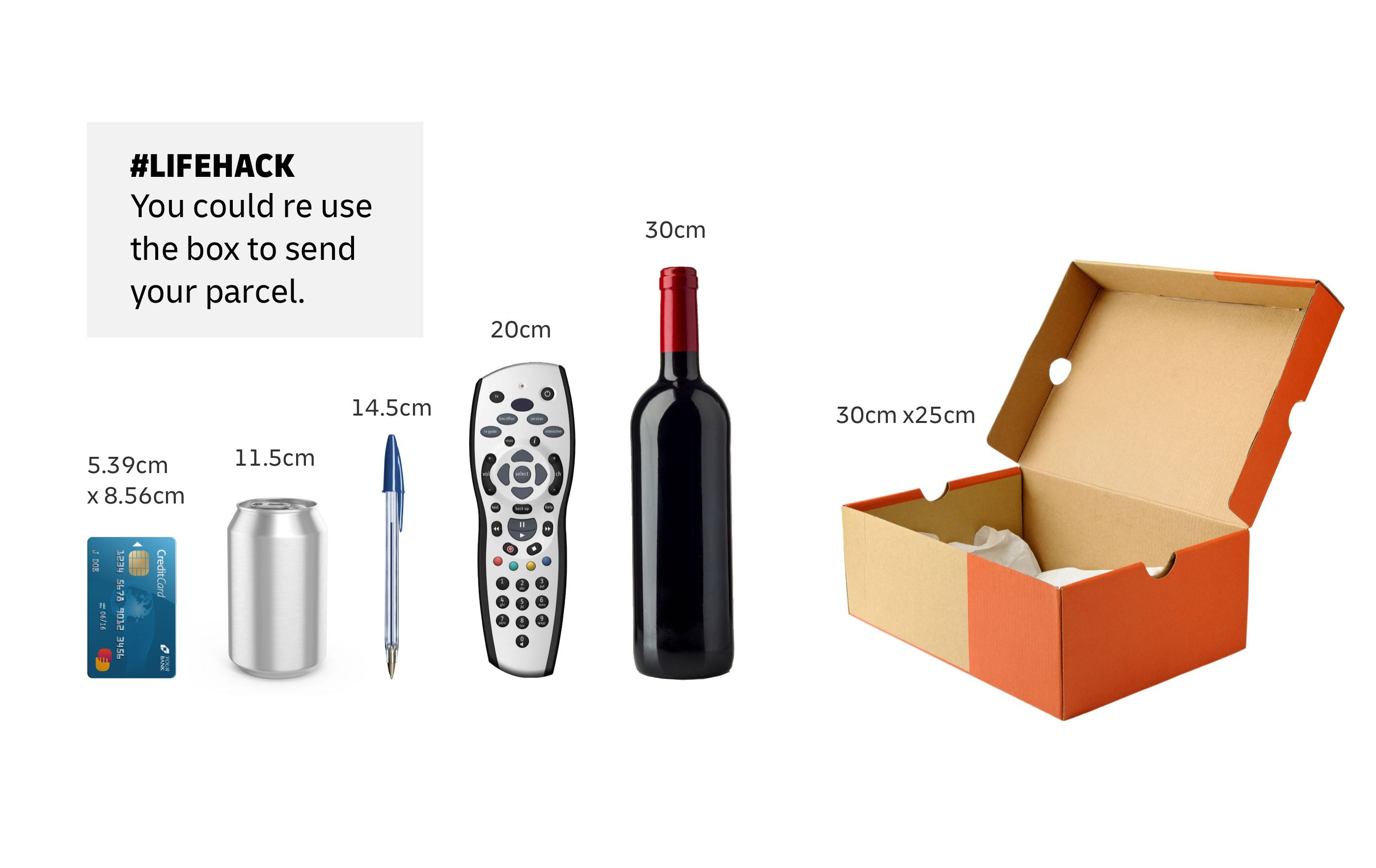 Measurement of household items