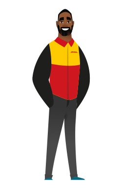 DHL Parcel UK driver