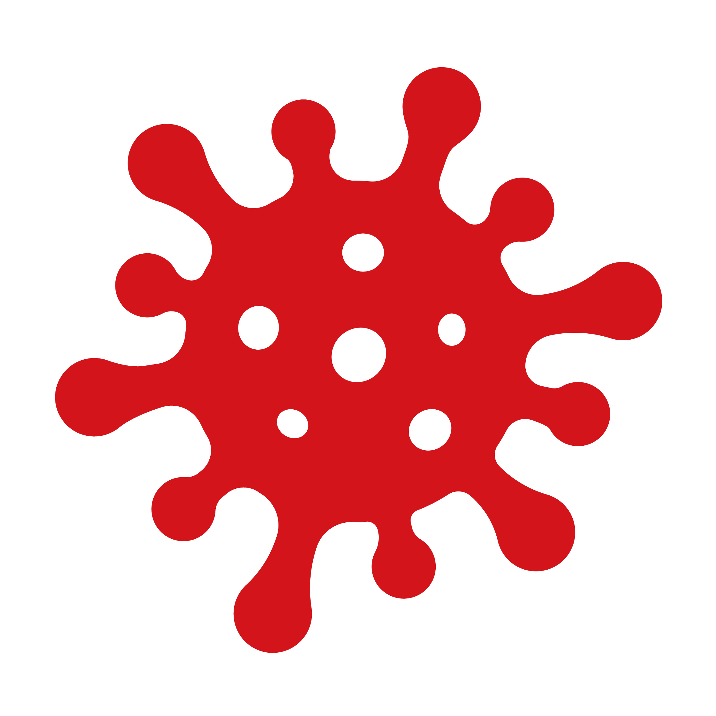 Infectious substance icon