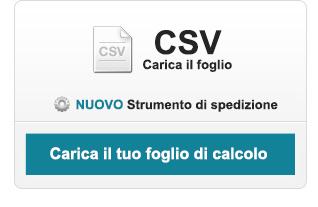 Fai clic qui per caricare un file CSV