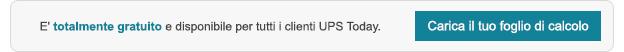 Carica un file CSV per un processo di prenotazione più rapido con UPS